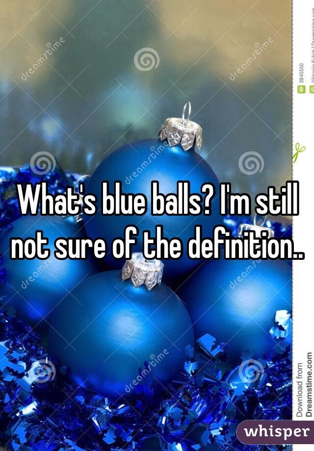 Whats blueballs