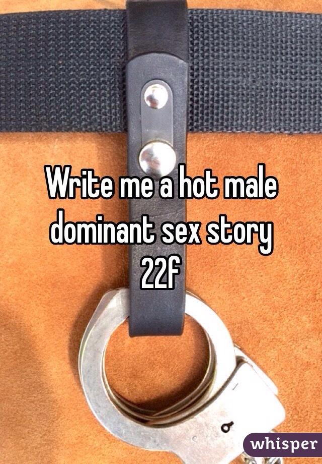 Sex stories dominance Male