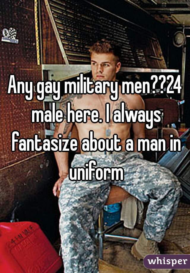 Gay miltary men pictures