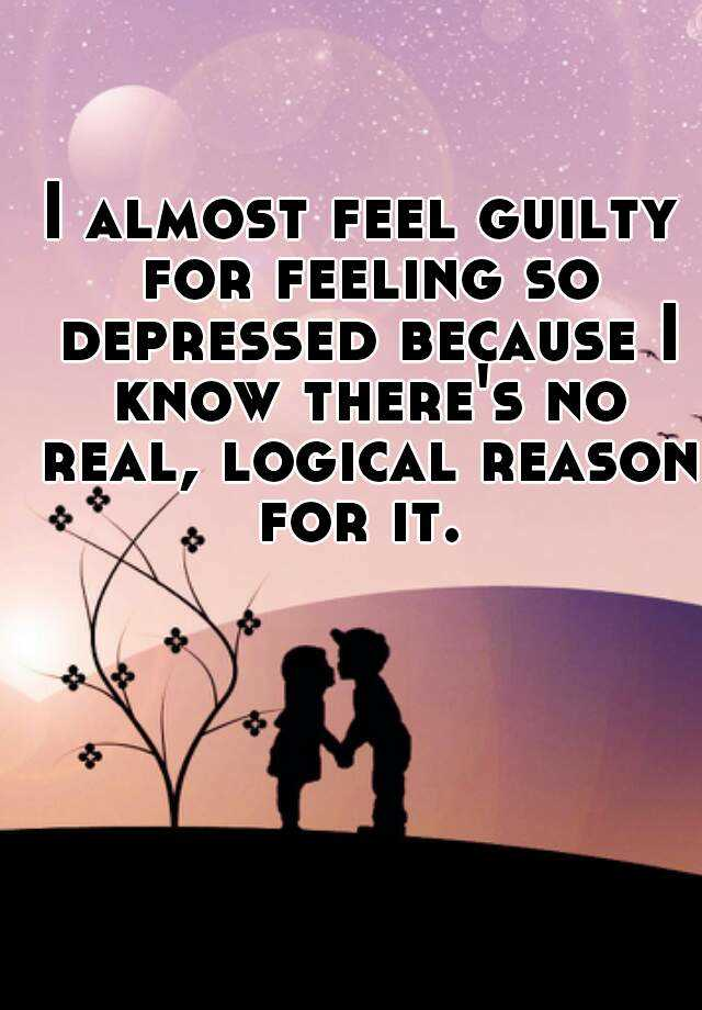 feeling guilty meaning