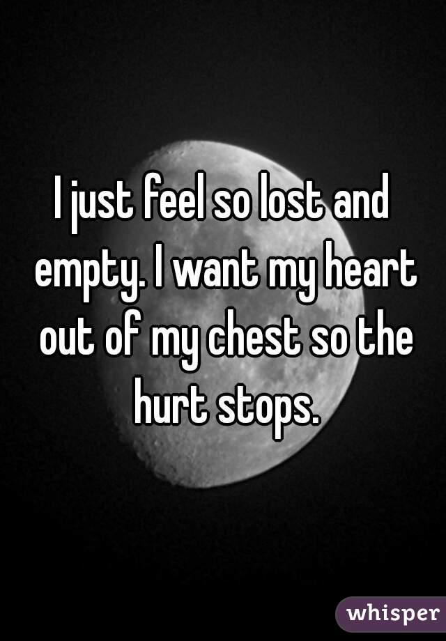 my heart feels empty