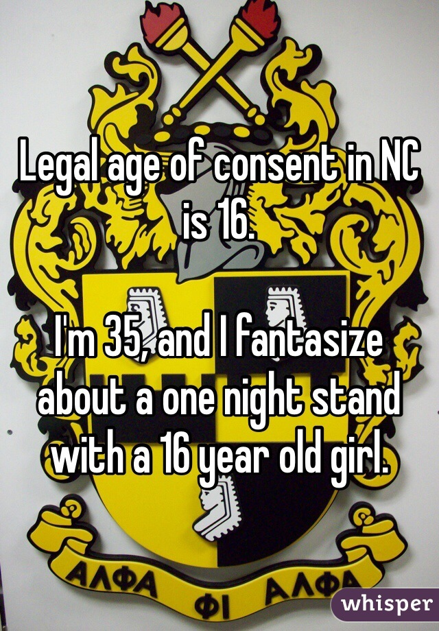 Legal age for sex in nc