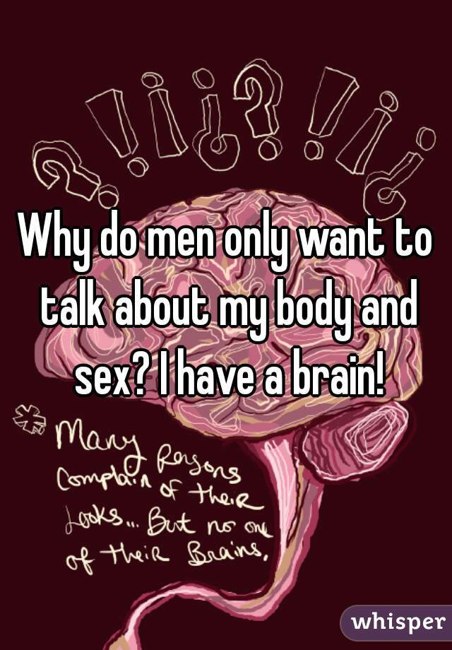Men talk about sex