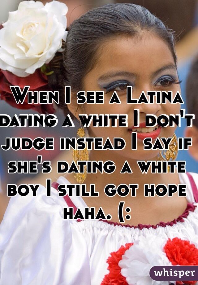 Dating a white boy
