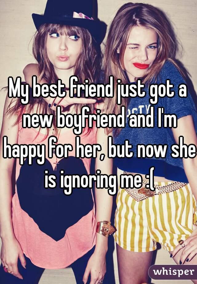 My female friend is ignoring me