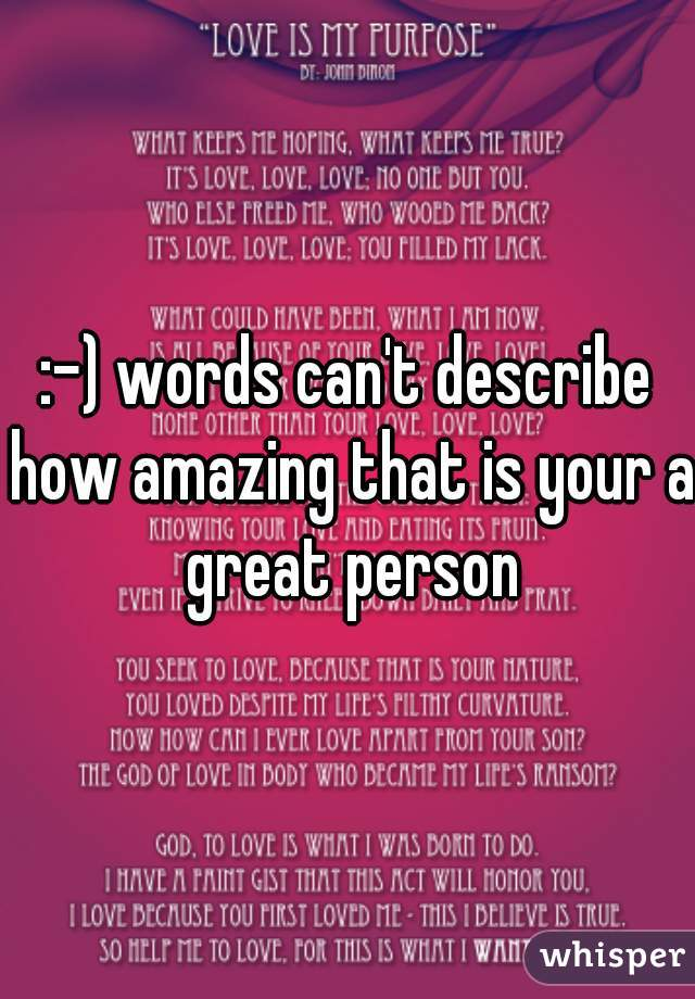 words that describe amazing