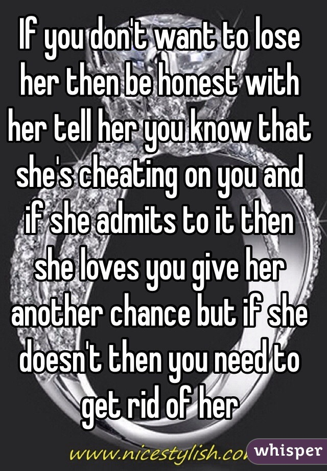 How to find out if shes cheating