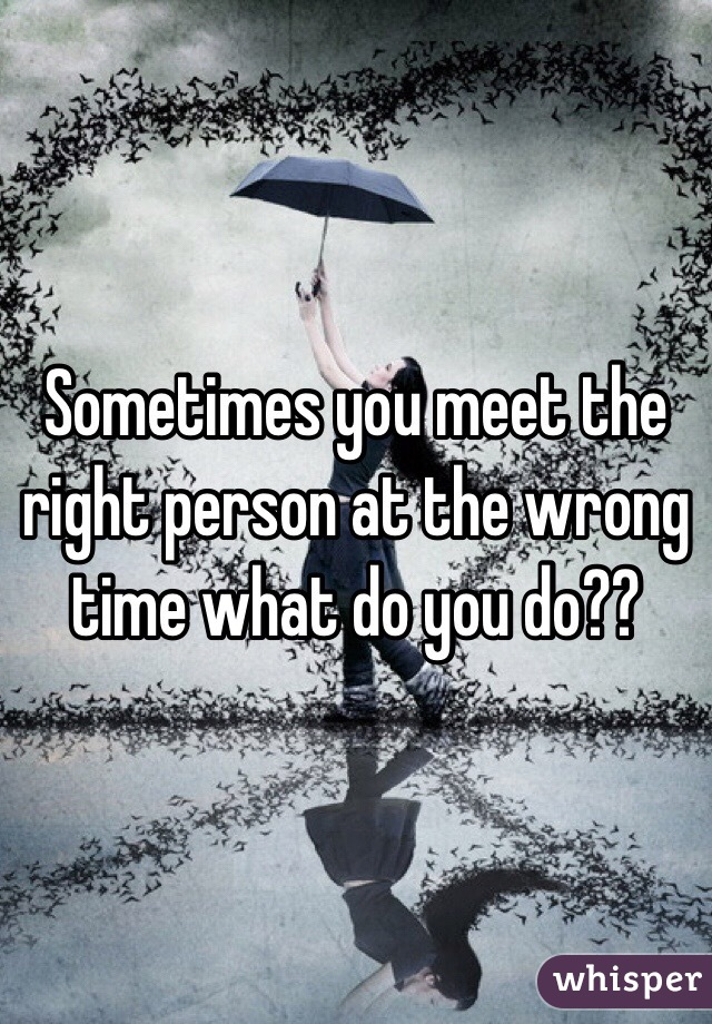 you are the right person