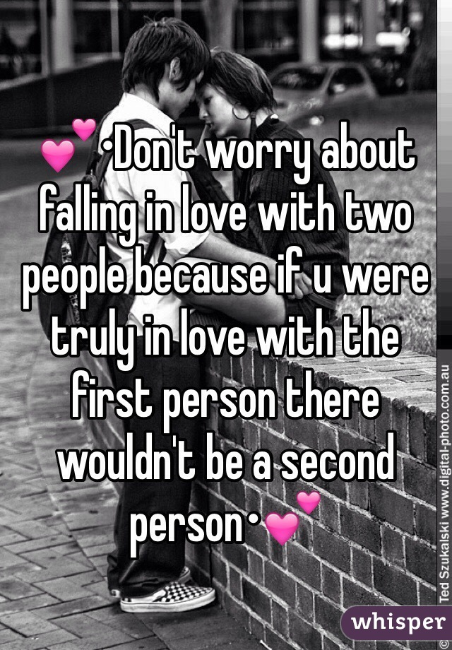what makes two people fall in love