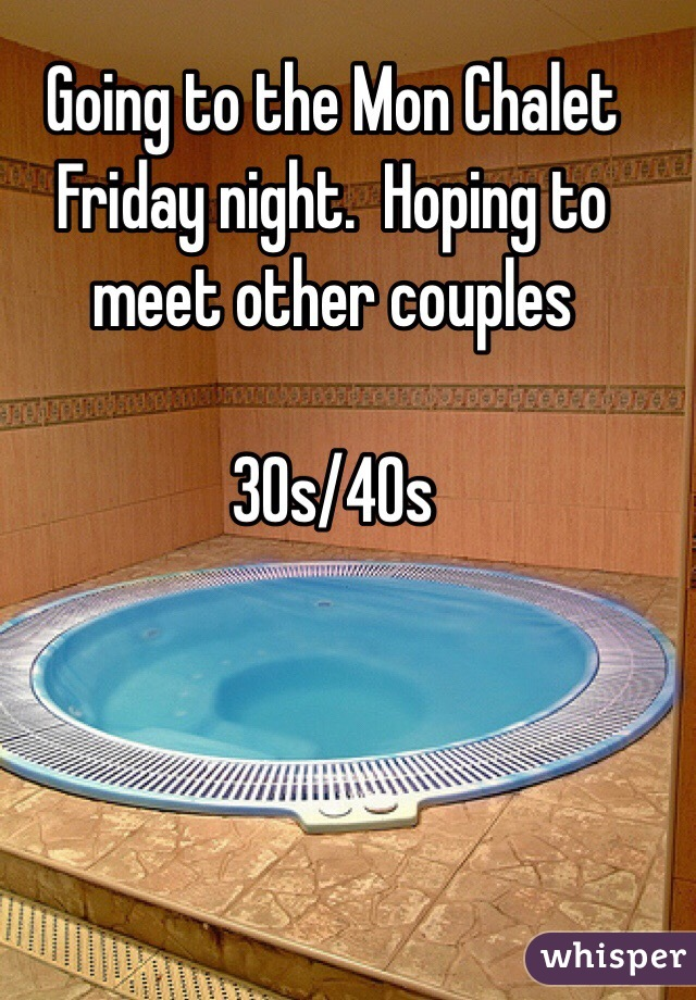 Meet other couples