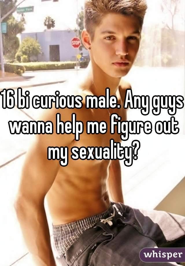 Bi curious male