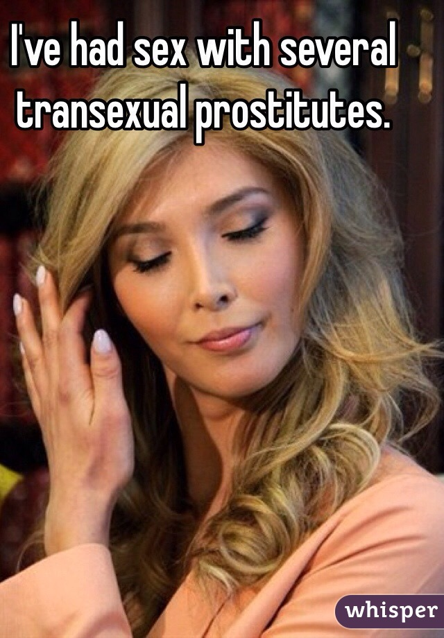 had sex with a transexual