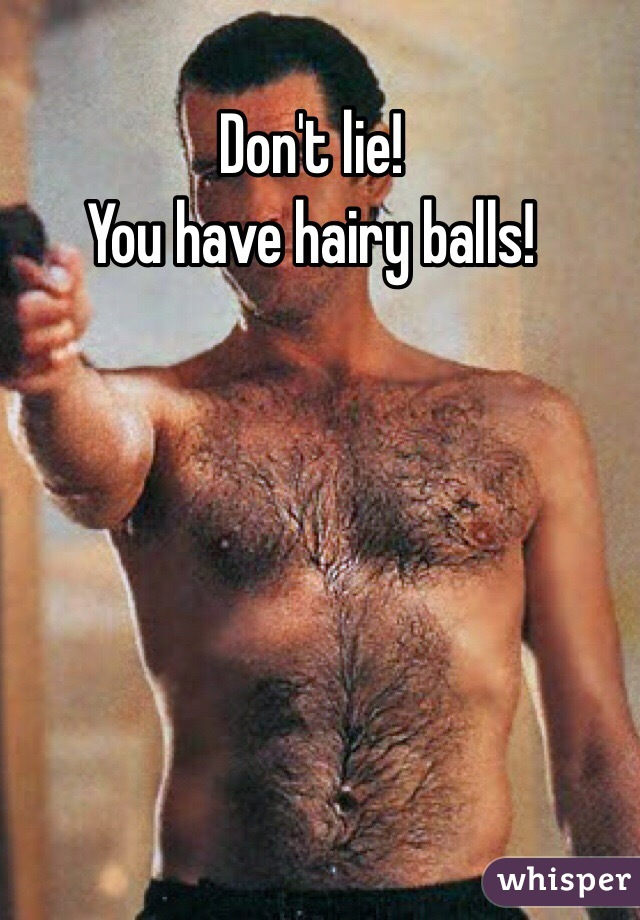 Women like hairy or shaved balls