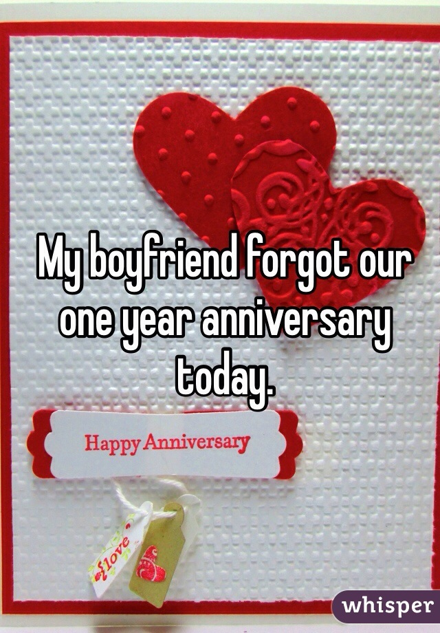 happy one year anniversary boyfriend