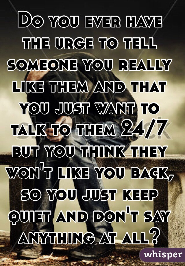 how do you talk to someone you like