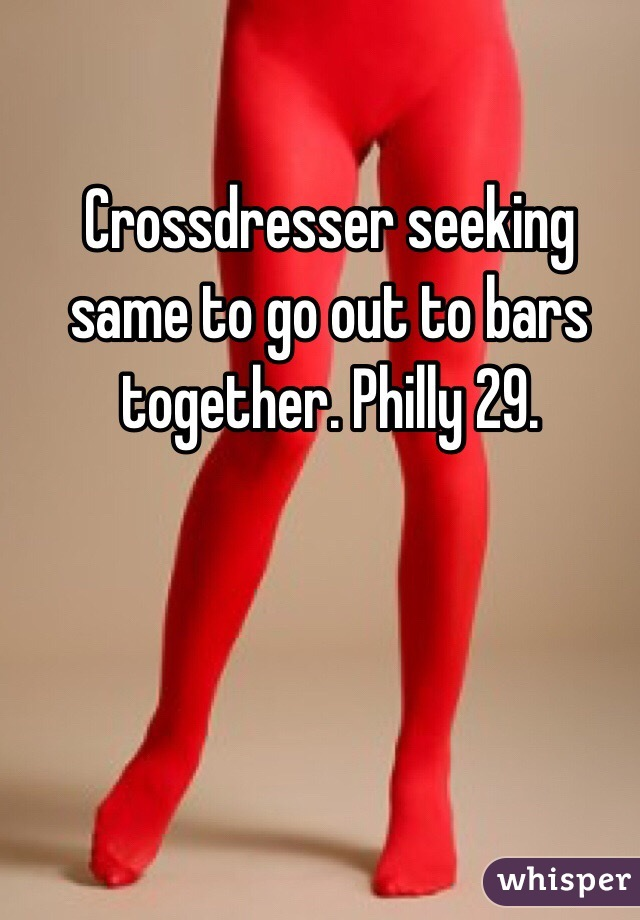 seeking crossdresser