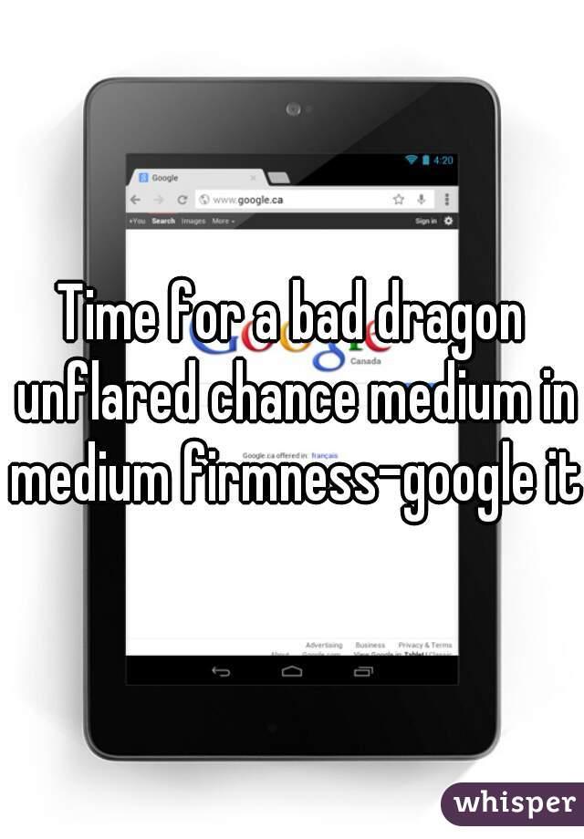 Bad dragon chance