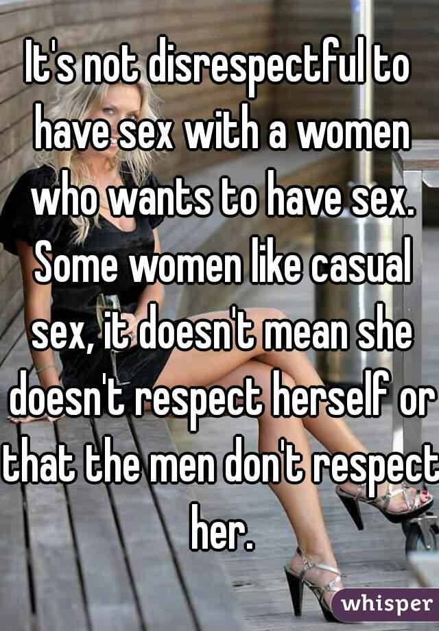 Do some women not like sex