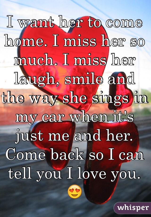 ways to tell her you miss her