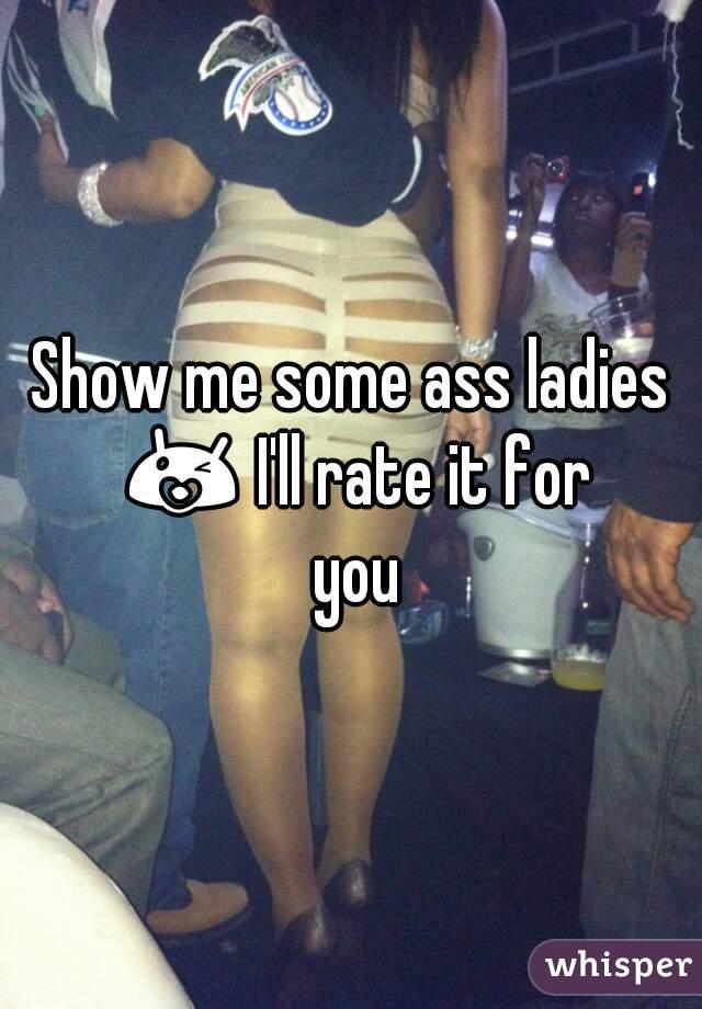 Show me the ass