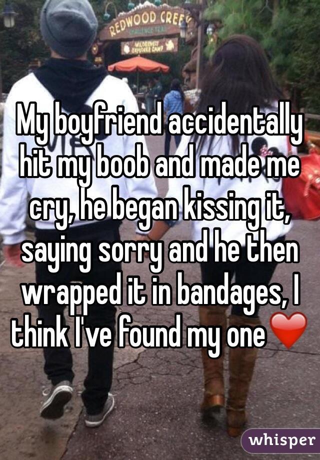 i hit my boyfriend