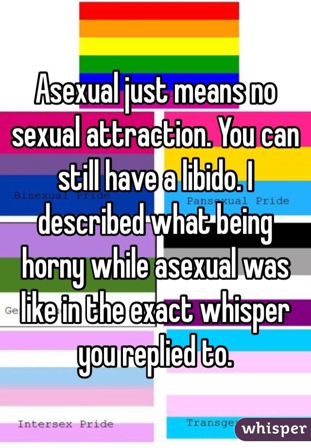 Asexual libido