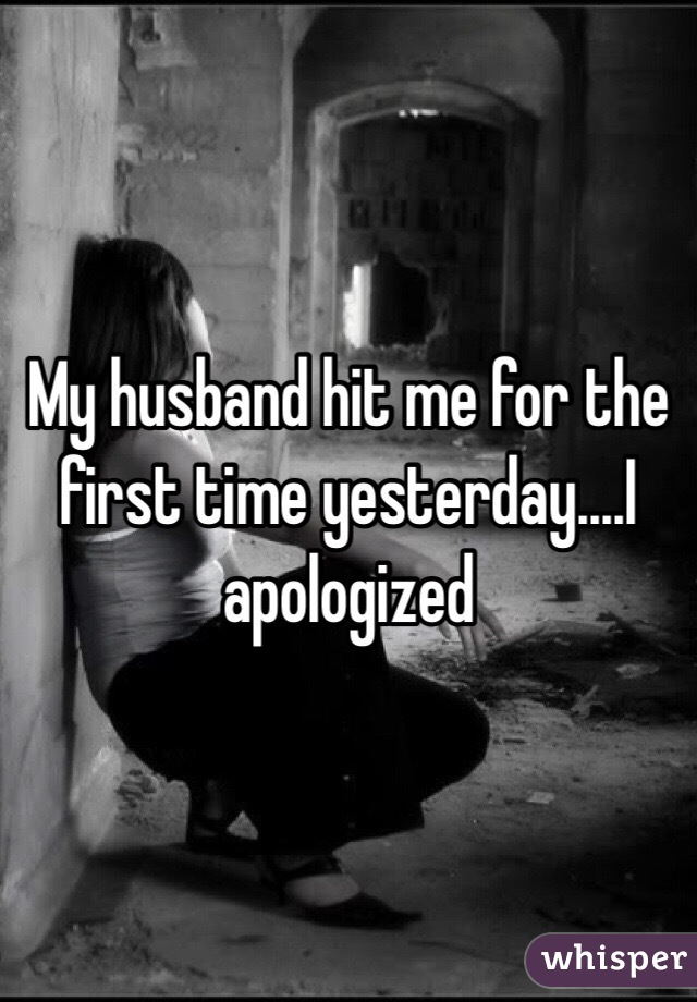 my husband hit me what should i do