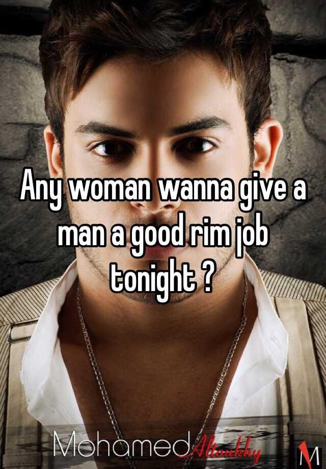 Thanks woman giving man rim job