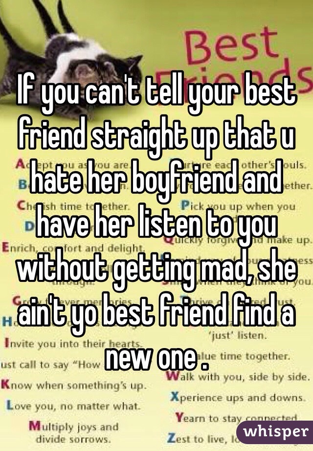 A How Like Her You Friend Let To Know