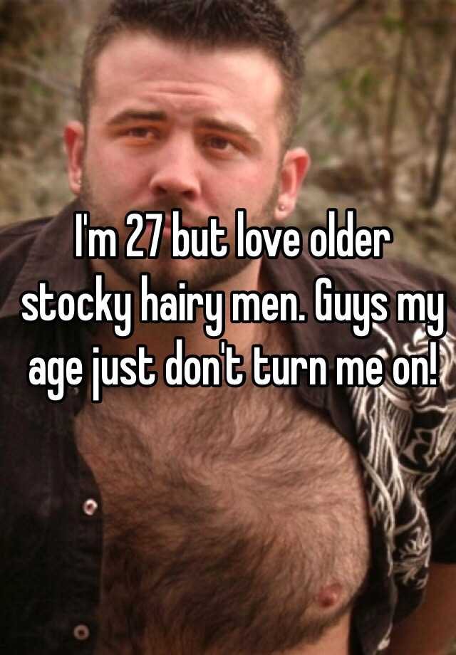 Stocky hairy men