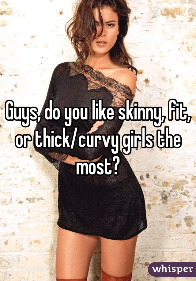 Do guys like fit chicks
