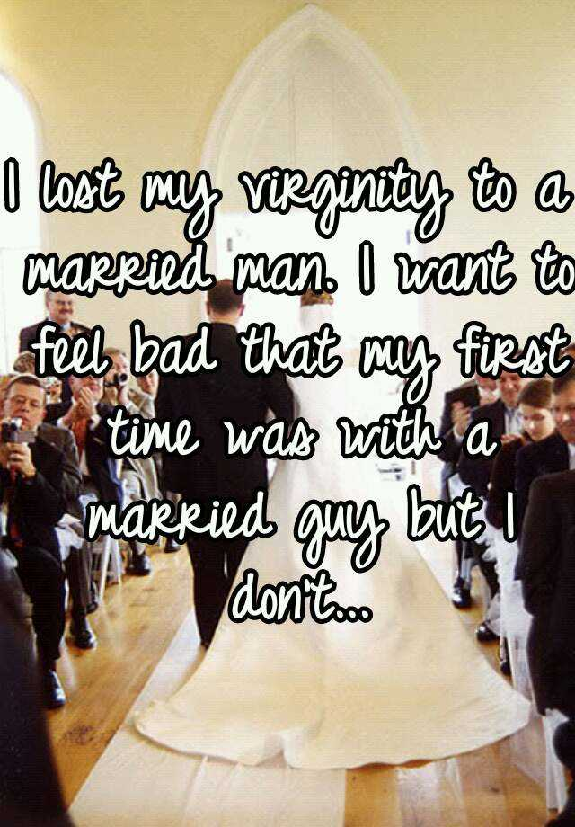 Something is. marrying man lost virginity to remarkable, rather