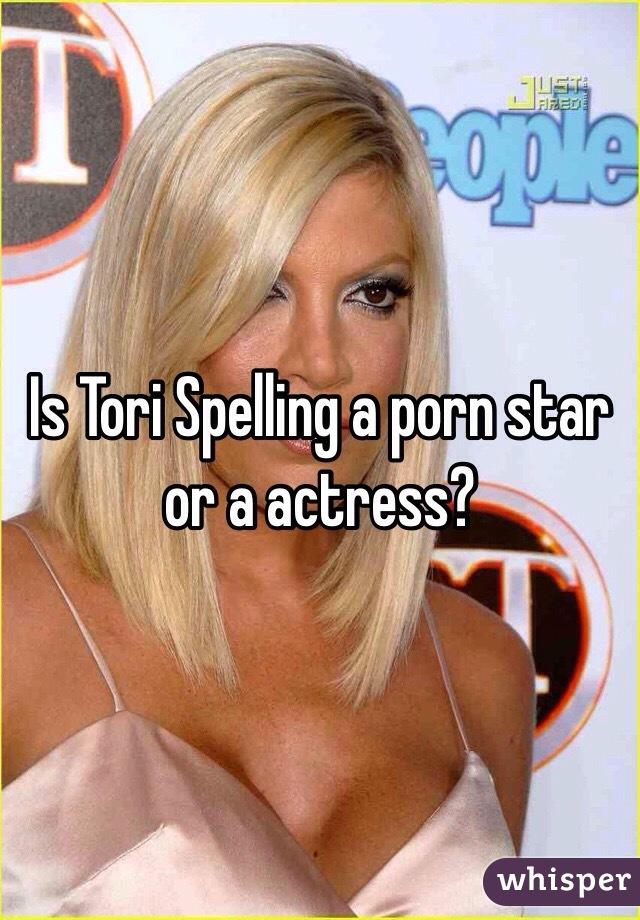 Tori spelling porn