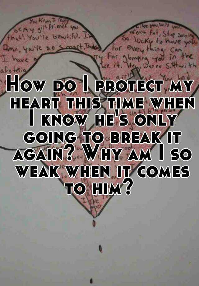 how to protect my heart