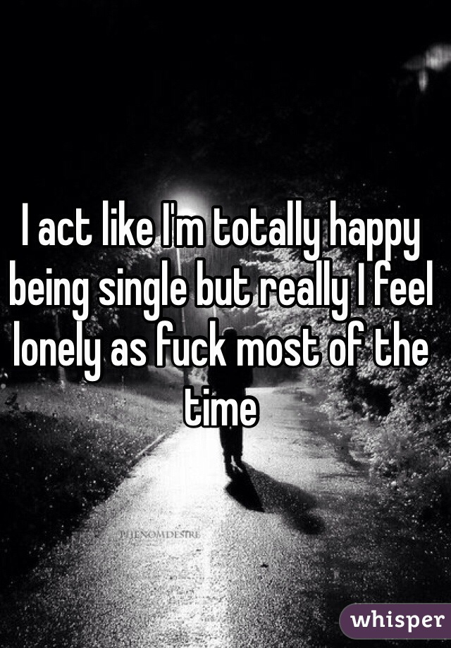 Single lonely
