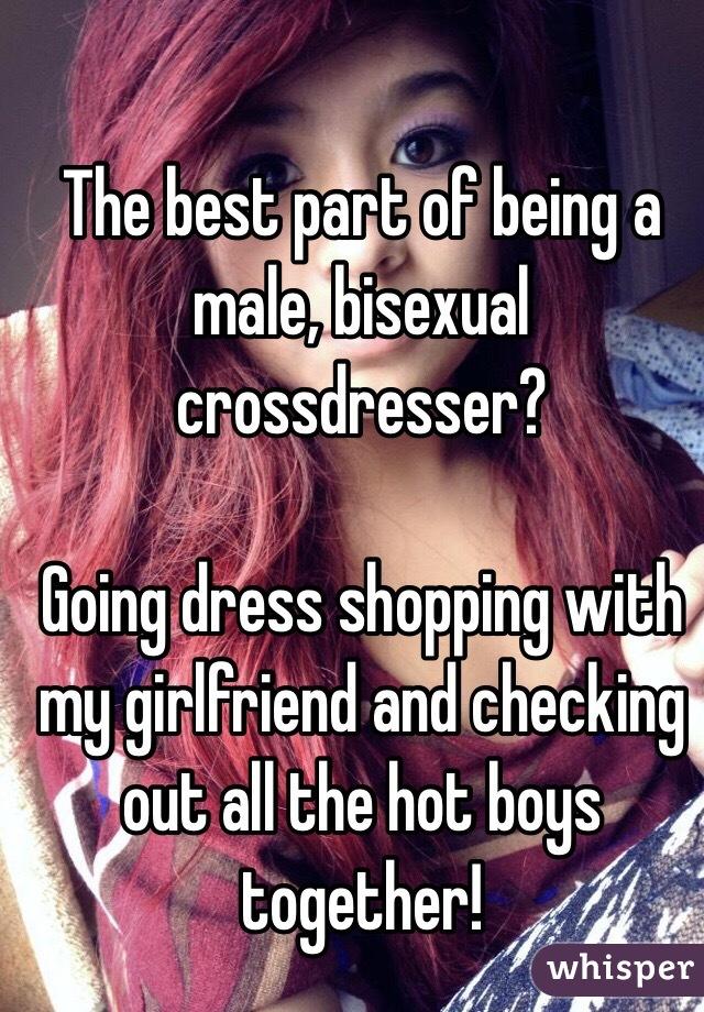 Bisexual cross dresser