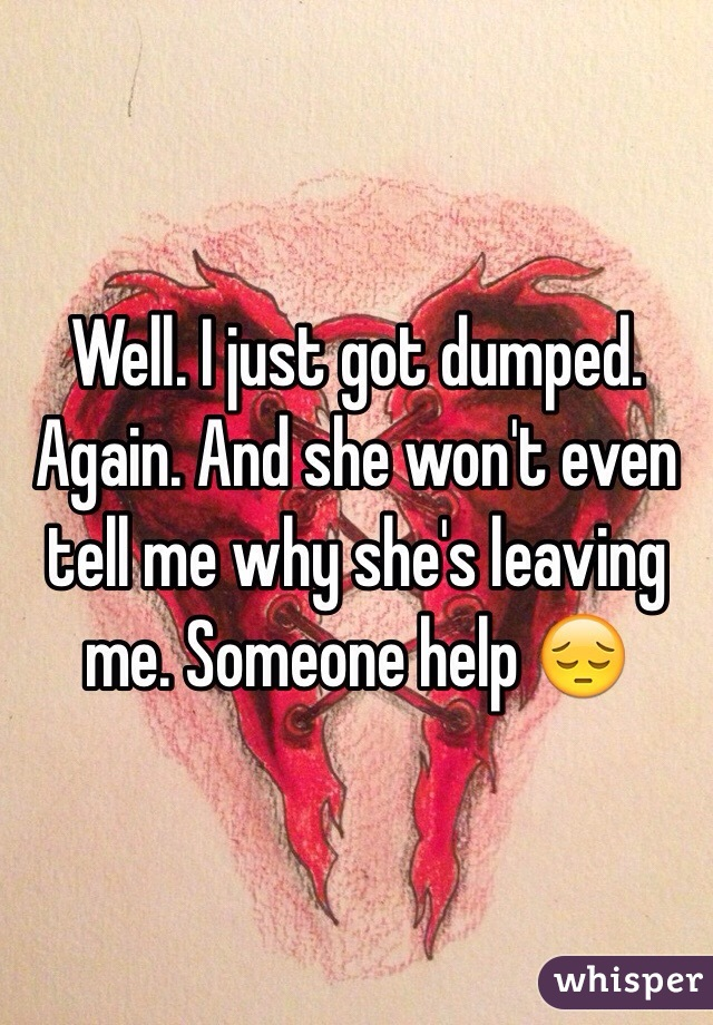 What To Tell Someone Who Just Got Dumped