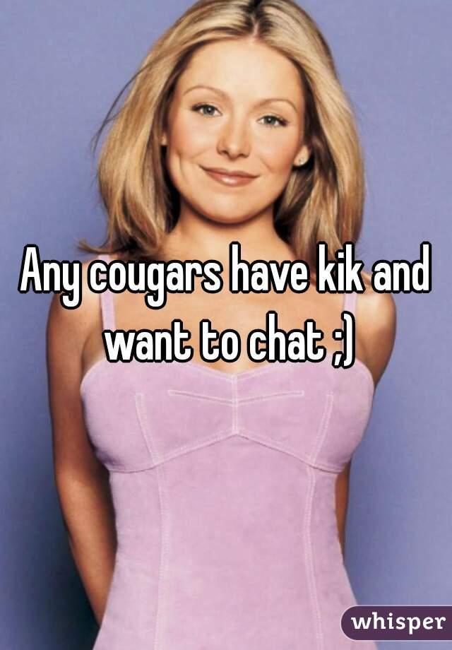 Kik cougars