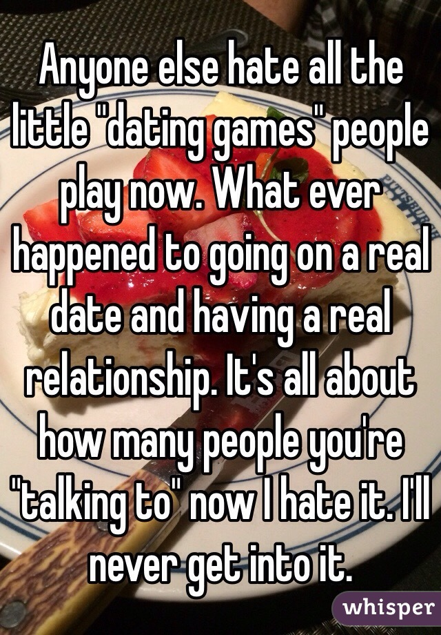 What is the purpose of dating games