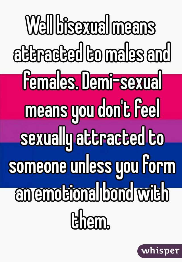 What does sexually attractive mean