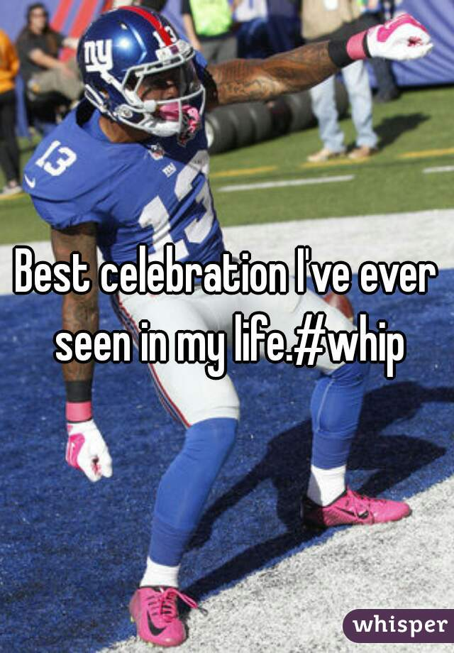Best celebration I've ever seen in my life.#whip