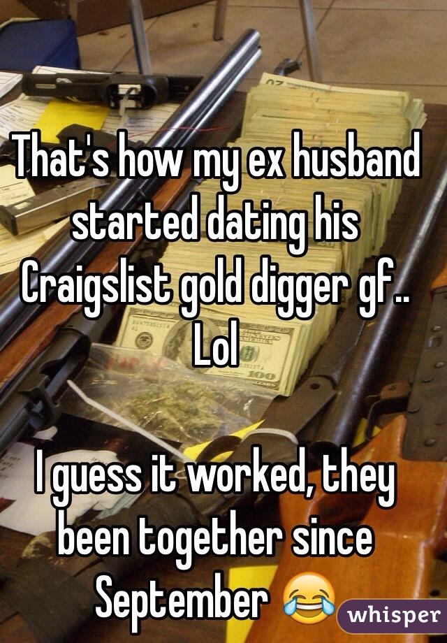 Ex husband started dating