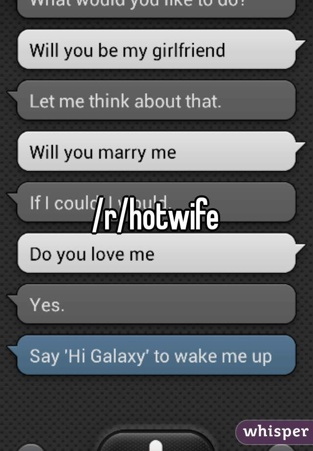 Hotwife chat