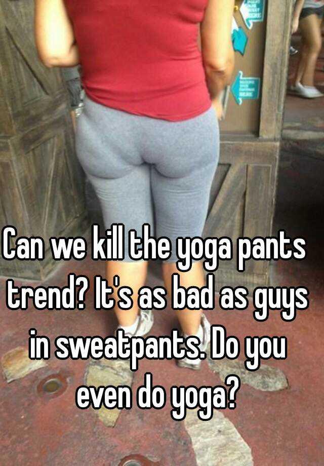 Bbw in yoga pants