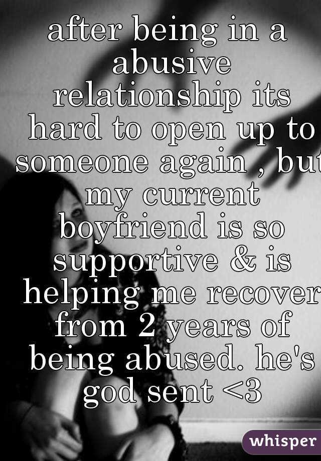 How to recover from abusive relationships