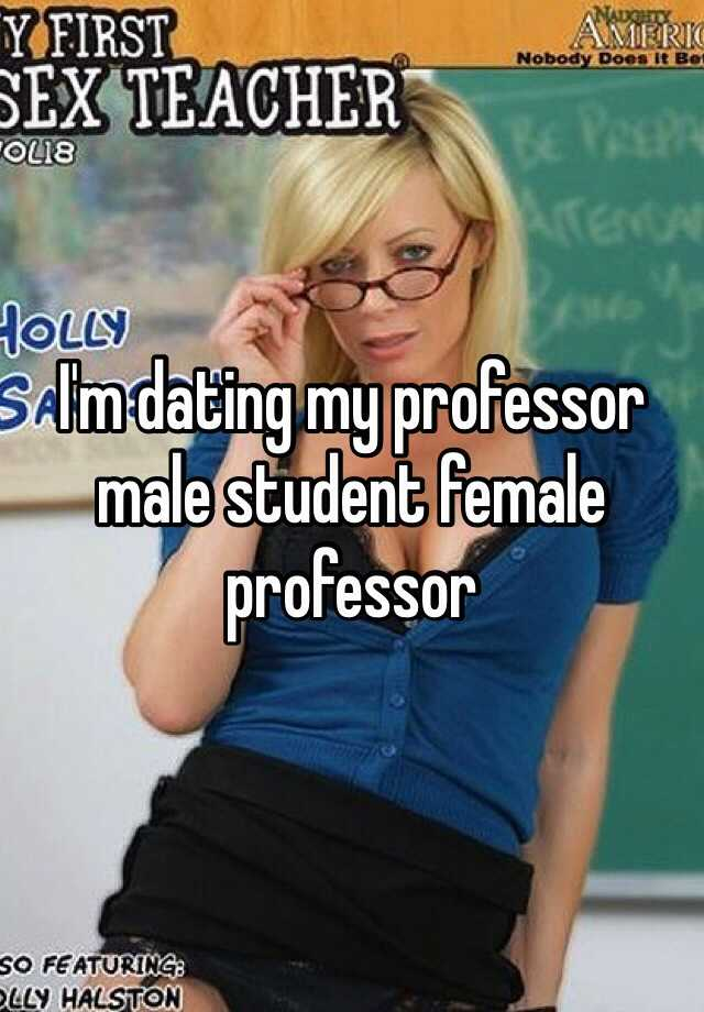 dating my professor