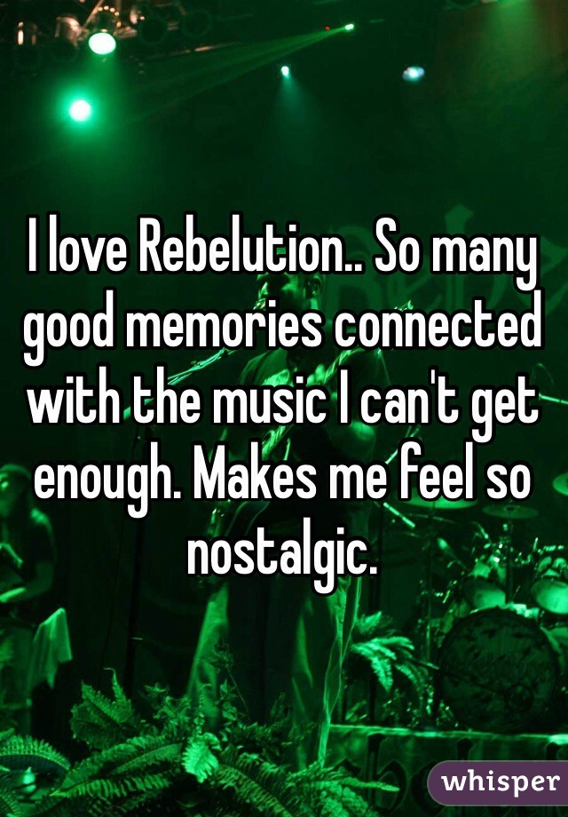 I love Rebelution.. So many good memories connected with the music I can't get enough. Makes me feel so nostalgic.