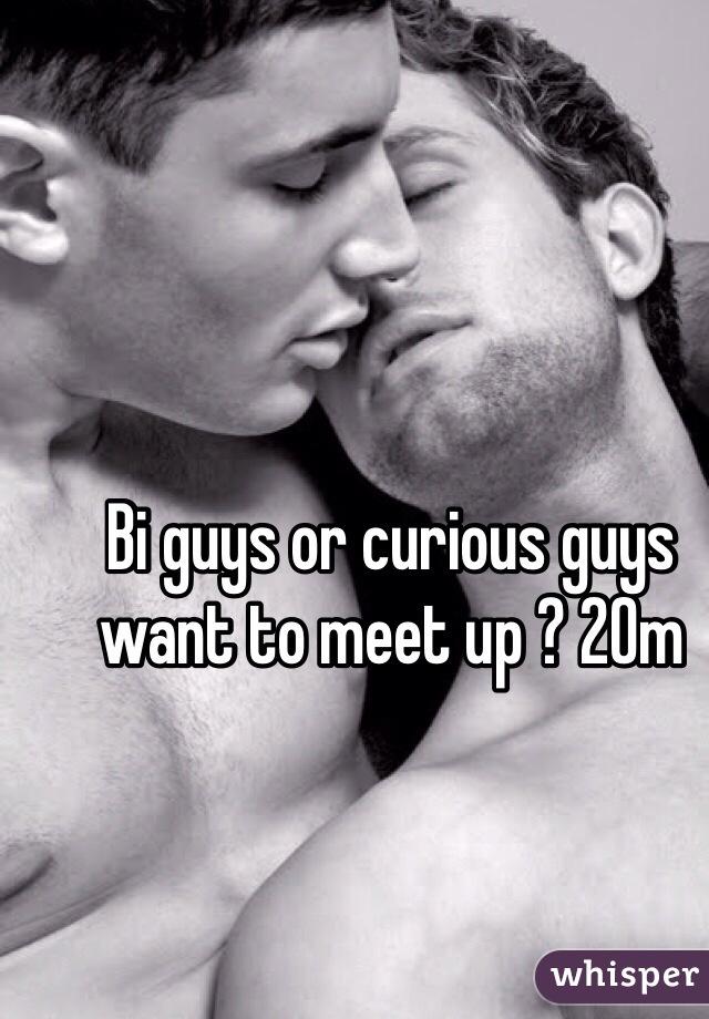 Bi guys or curious guys want to meet up ? 20m