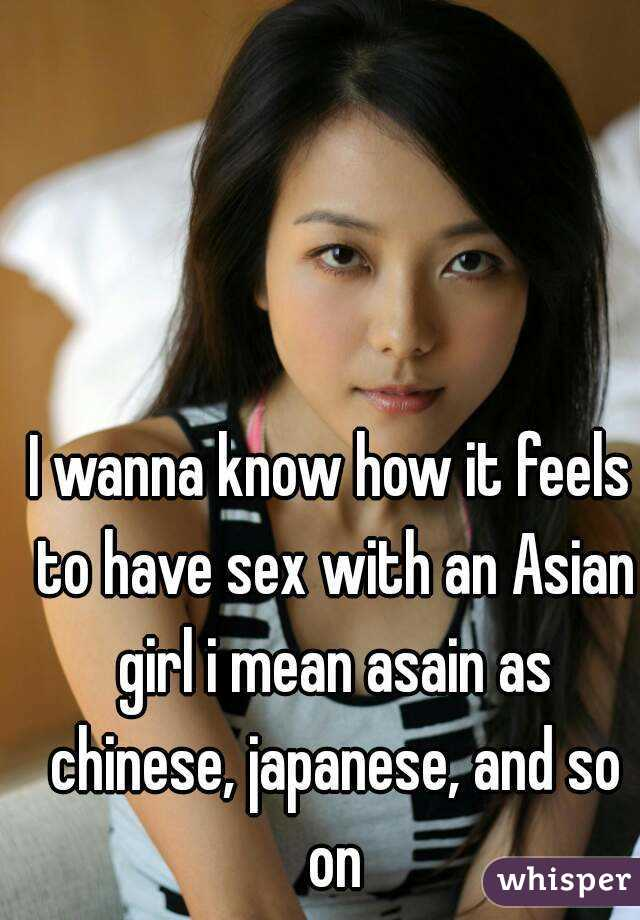 Asian real sex