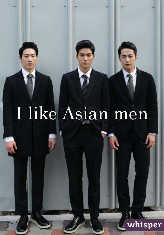 What do chinese men like